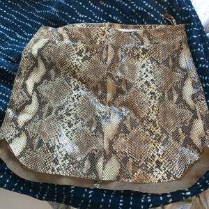 karina Grimaldi snake skirt
